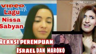 REAKSI PEREMPUAN ISRAEL DAN MAROKO DENGAR LAGU NISSA SABYAN