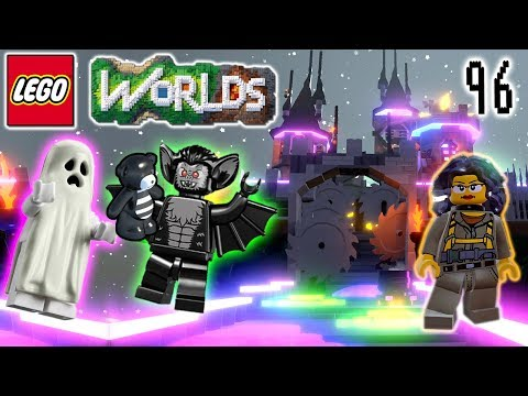 Sheila's Mom the Ghostbuster: Part 2 : Let's Play LEGO Worlds: Episode 96