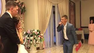 Брат спел песню на свадьбе сестры