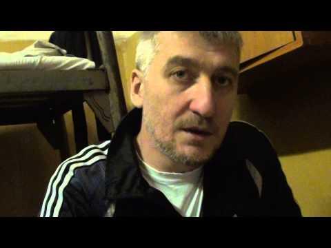 видео: Майор Матвеев в Челябинском СИЗО-3 21 февраля 2014 г.