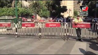 بعد دعوات لحرق علم إسرائيل آمام «الصحفيين» الأمن يغلق محيط النقابة