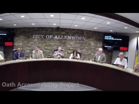 OAP Talks to Allentown City Council
