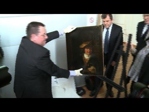 Rembrandt retrouvé à Nice: deux receleurs présumés déférés
