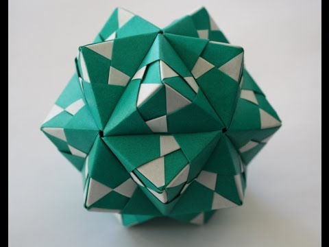 modular origami sonobe 30 units