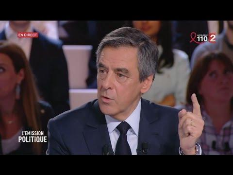 Fillon accuse Hollande d'être à l'origine des fuites sur le PenelopeGate (F2, 23/03/17, 21h)
