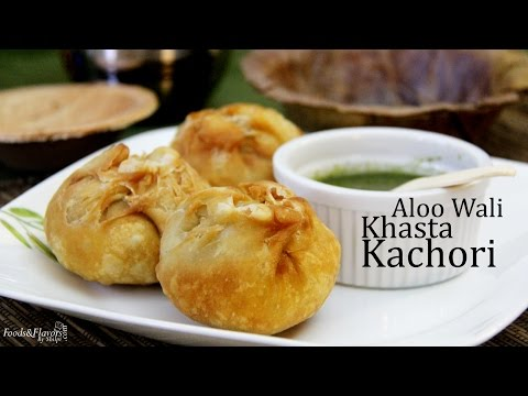 Aloo khasta kachori - Khasta Kachori with Potato Stuffing | Aloo Kachori Recipe | Khasta Kachori