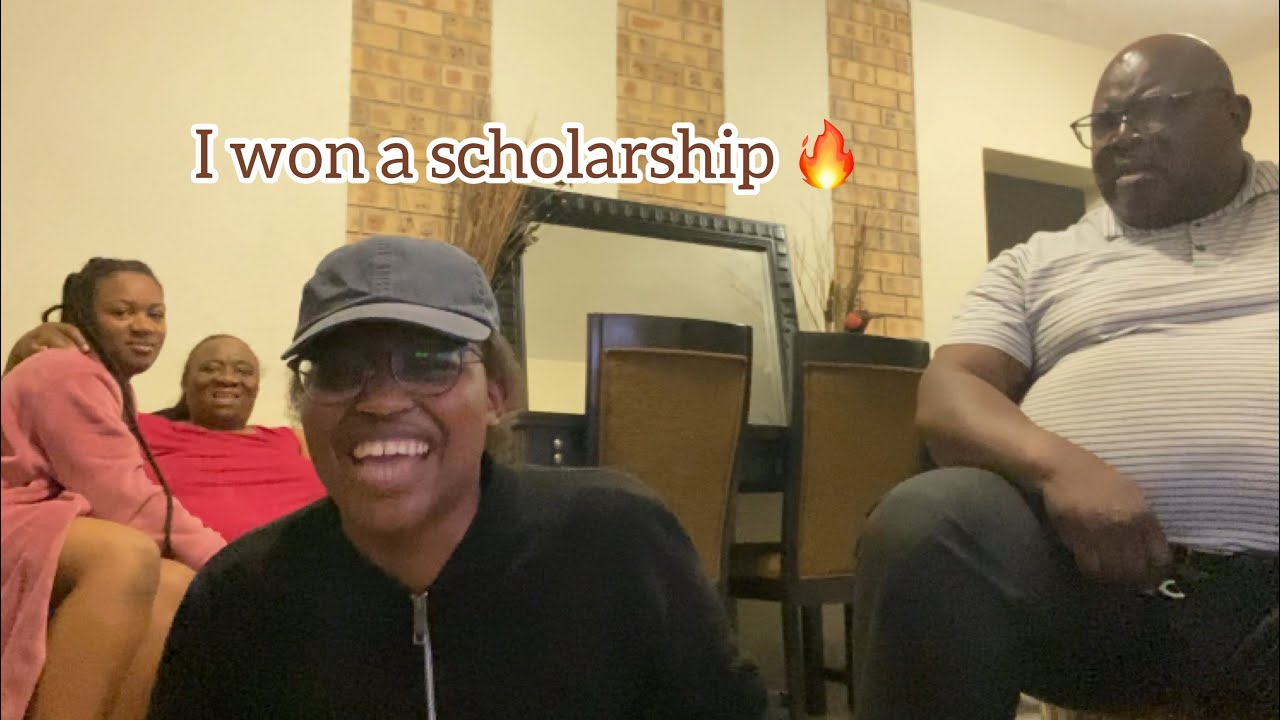 SCHOLARSHIP PRANK ON MY SOUTH AFRICAN PARENTS ???