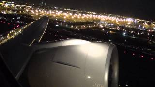 Extremely Powerful Night-Time Takeoff--UNITED Airlines Boeing 777-200ER Takeoff at Newark
