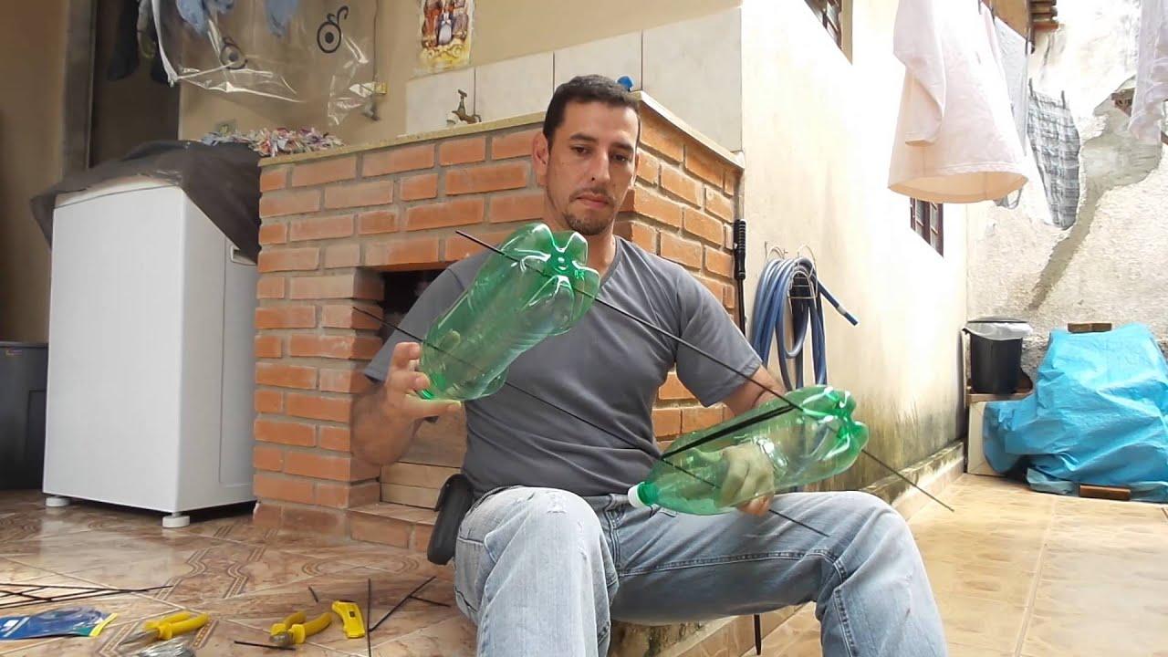 fazer jardim vertical garrafa pet:Jardim suspenso feito de garrafas pet parte 1 – YouTube