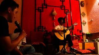 Con Đường Màu Xanh (guitar cover) tại Hương Việt Trà Quán, 293 Tô Hiệu, Hà Nội