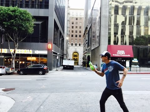 Being BATMAN at the filming locations in downtown LA