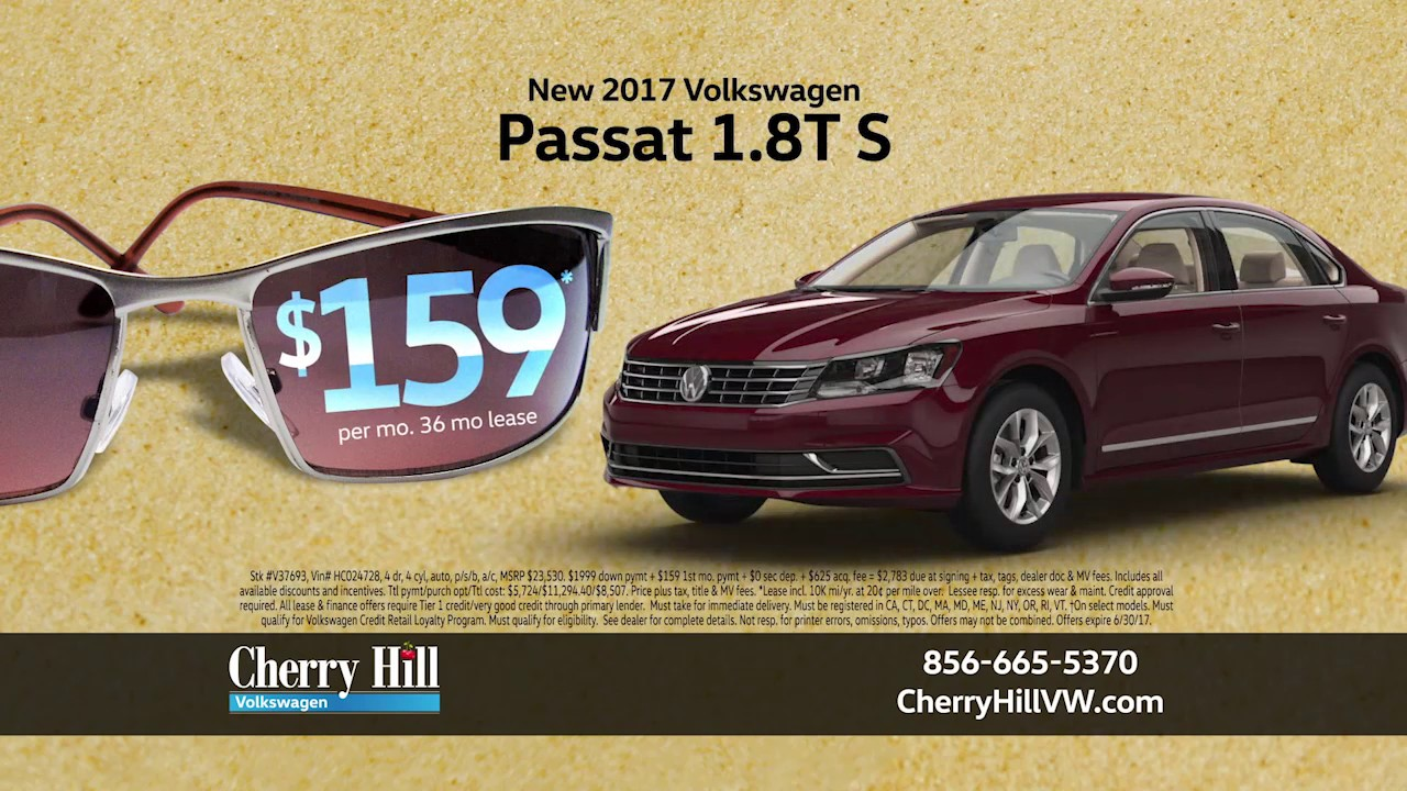 Cherry Hill Volkswagen >> Cherry Hill Volkswagen June 2017 Lease Deals And Specials