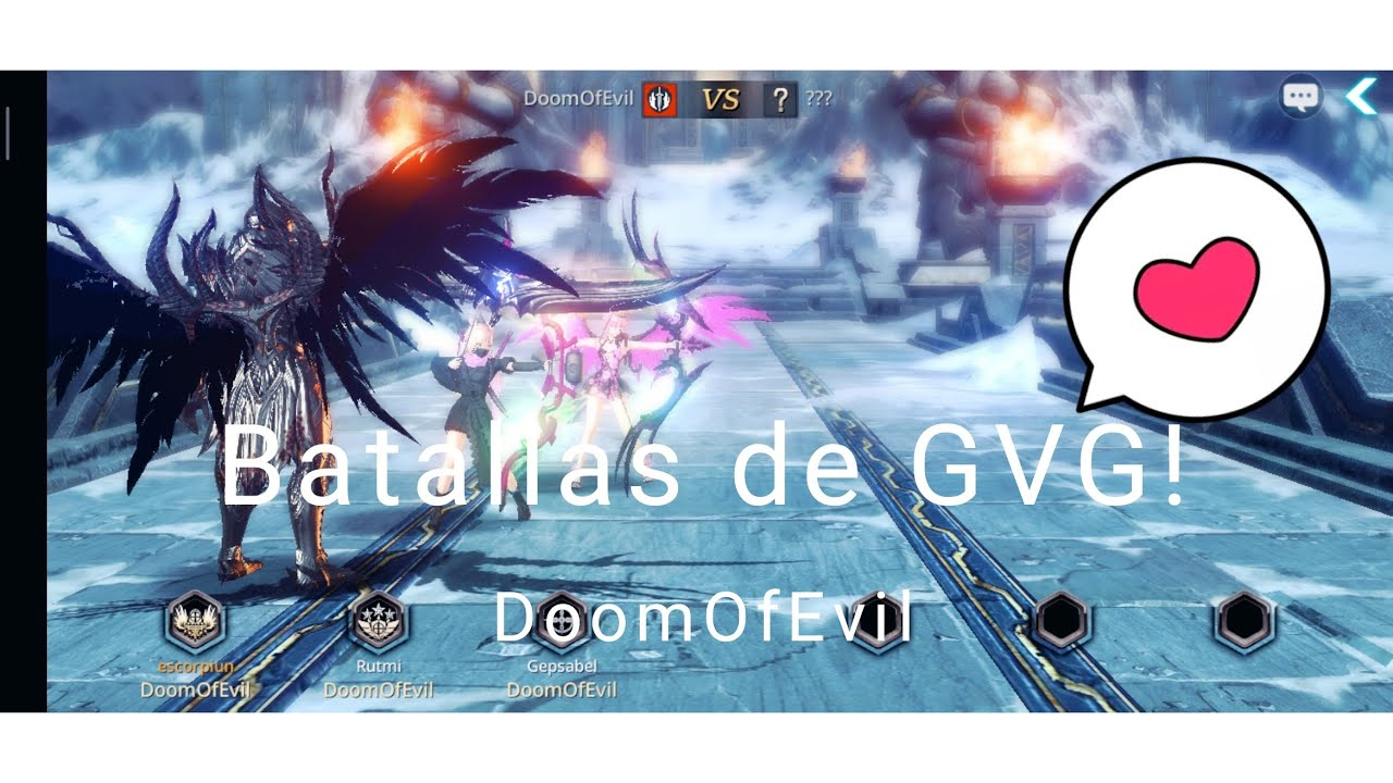 Darkness Rises - PVP de gremio DoomOfEvil