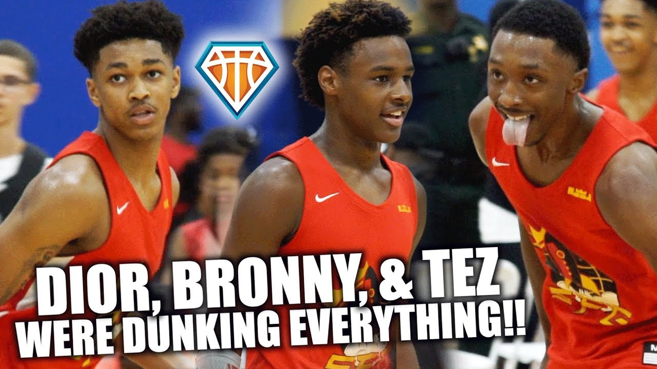 Download DIOR, BRONNY, TEZ & SKYY Were Dunking EVERYTHING!!   SFG 1-Game DUNK SHOW at Balling on the Beach