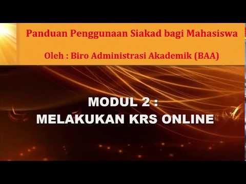 Panduan dan Solusi KRS Online Unipdu Jombang