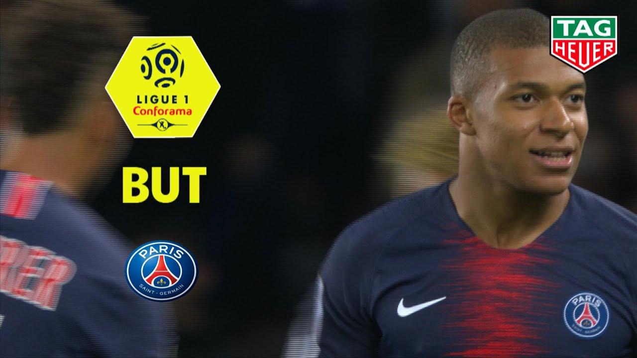 But Kylian Mbappe 61 Paris Saint Germain Olympique Lyonnais 5 0 Paris Ol 2018 19