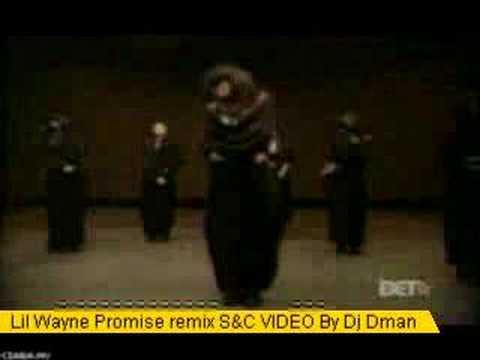 Lil Wayne Promise remix Screwed & chopped   Dj Dman