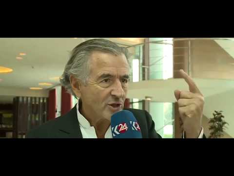 "BHL: ""THE INTERNATIONAL COMMUNITY HAS BEEN BLACKMALED IRAN AND TURKEY"""