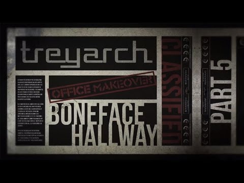 Ep. 5 - Treyarch Office Makeover - Boneface Hallway