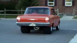 Cruisin' in 1964 Pro Street Chevy II Nova