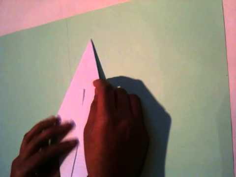 Faire un origami un arbre de noel youtube - Arbre de noel origami ...
