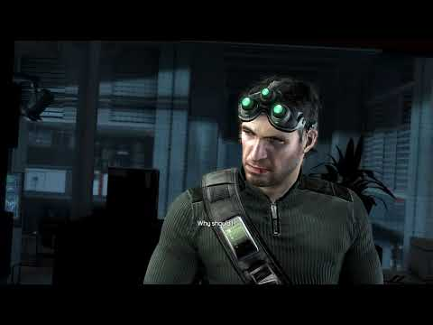 Splinter Cell Conviction - Sam's Rage Scene