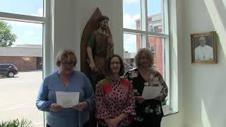 Ladies from the Archbishop's Office Prayer