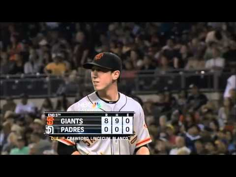 Tim Lincecum No-Hitter All 27 Outs