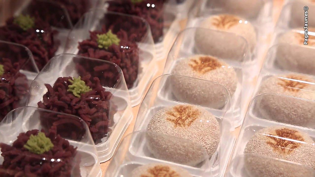 Toraya, pâtisserie japonaise à Paris. - YouTube
