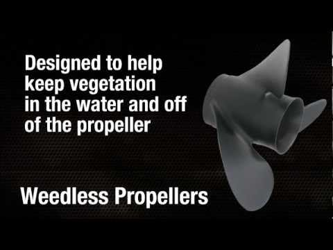 Yamaha Weedless Propellers