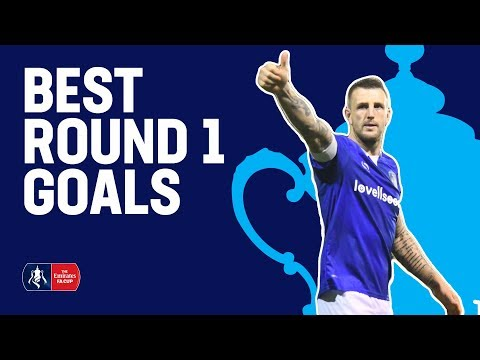 UNSTOPPABLE Free-Kicks, Lobs & Rockets! | Best Goals from Round 1 | Emirates FA Cup 2018/19