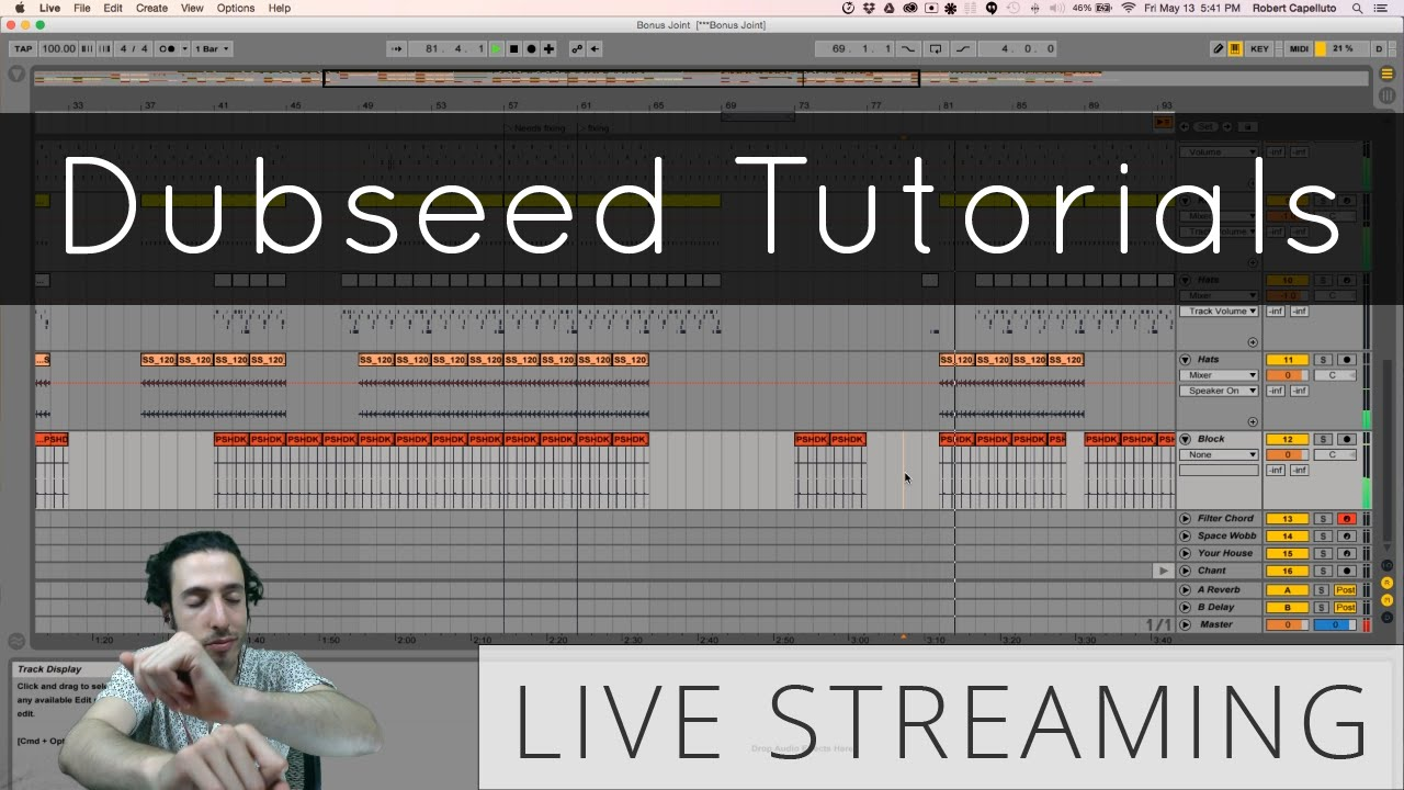 Live Stream your DAW using OBS for Mac