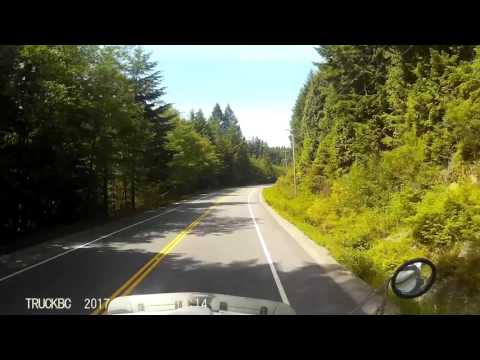 Sunshine Coast Highway 101 BC Langdale to Earls Cove - Timelapse