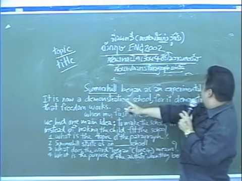 ENG 2002 แนะข้อสอบ ฝึกคำศัพท์ & เนื้อเรื่อง ให้สอบผ่าน  โดย อ.มนตรี