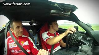 "Fernando Alonso and the LaFerrari: ""Remember, two slow laps..."""