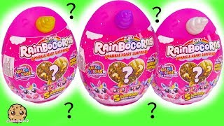 Rainbocorn Mini Unicorn Horn Surprise Eggs + Color Changing Twin Pet
