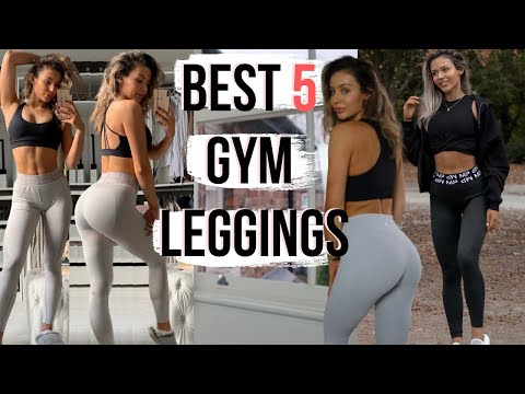 TOP 5 BEST GYM LEGGINGS *Most Flattering everrrrr!!*