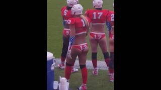 I absolutely love Lingerie Football !!! Watch #13 Twerk for the guys!!!