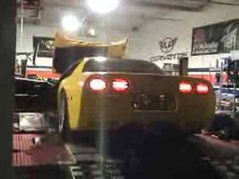 Stock 2003 Corvette Z06 Dyno