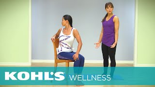 Office Yoga: Spinal Twist   Two Fit Moms   Kohl's