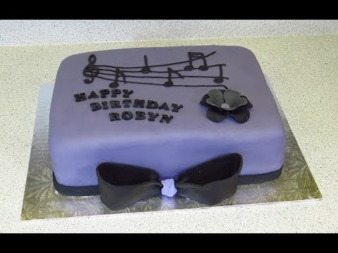 Musician Cake Decorations