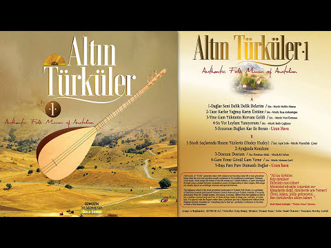 Altın Türküler 1 Long Play - Türk Halk Müziği Arşivi