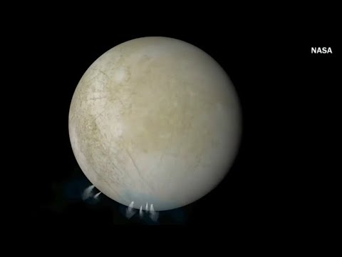 New evidence of water plumes found on Jupiter's moon Europa