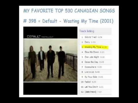 Top 530 Canadian Songs - 410 to 381