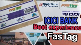 Unboxing of FasTag from ICICI Bank/ ICICI Bank FasTag details