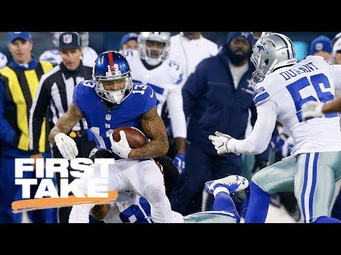 Stephen A. Smith Betting On Giants To Decline Before Cowboys | First Take | ESPN