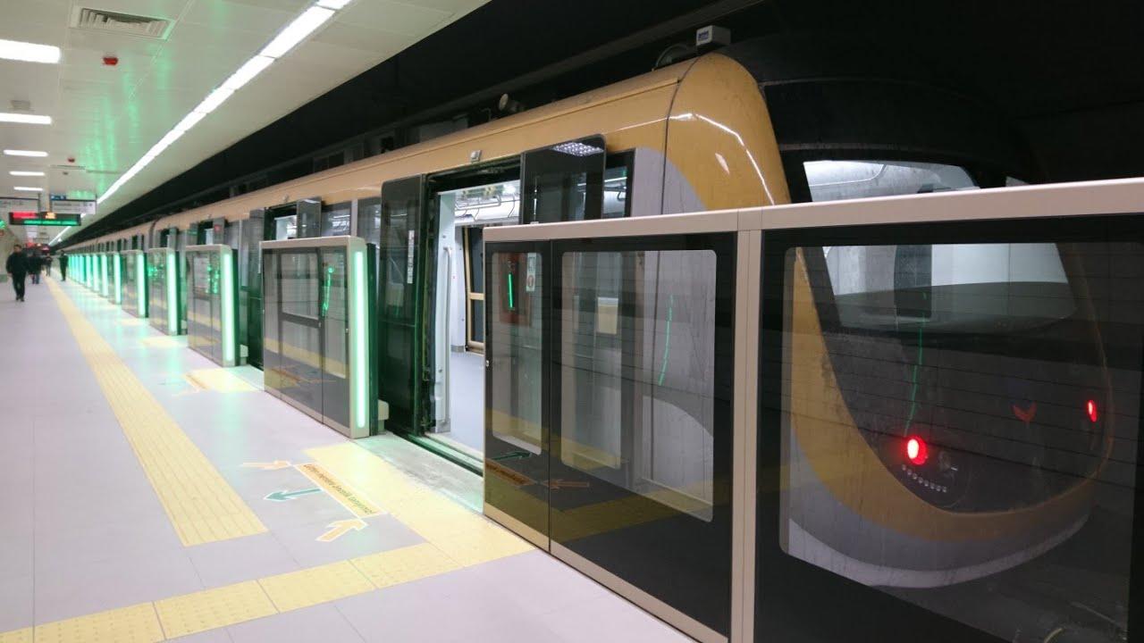 Metro İstanbul (M5) Üsküdar - Çekmeköy Hattı (Sürücüsüz Metro)