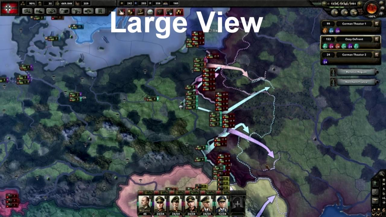 HOI4 - How to use Tank divisions