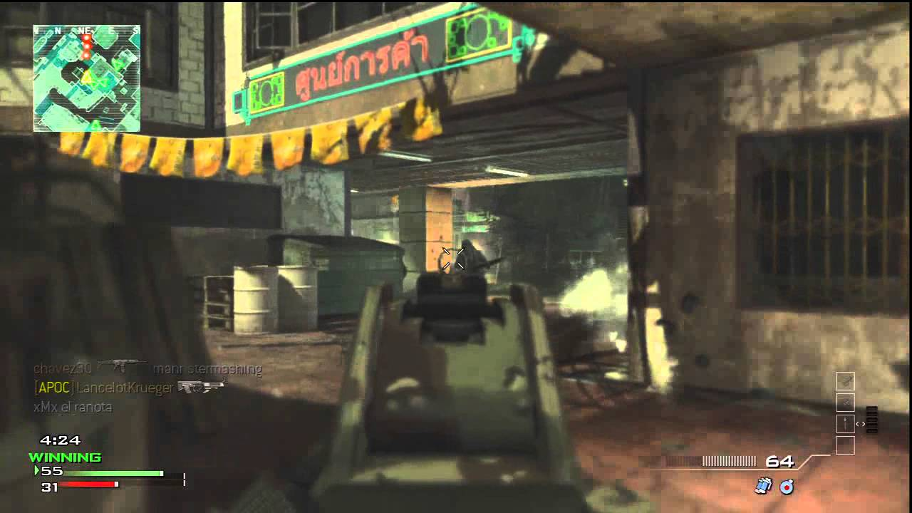 MW3 gameplay on Booleg (w/Music)