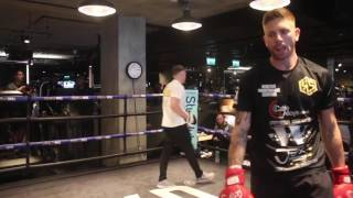CAN RICKY SUMMERS RIP BRITISH TITLE AWAY FROM FRANK BUGLIONI? - FULL PAD WORKOUT / SUMMERTIME BRAWL
